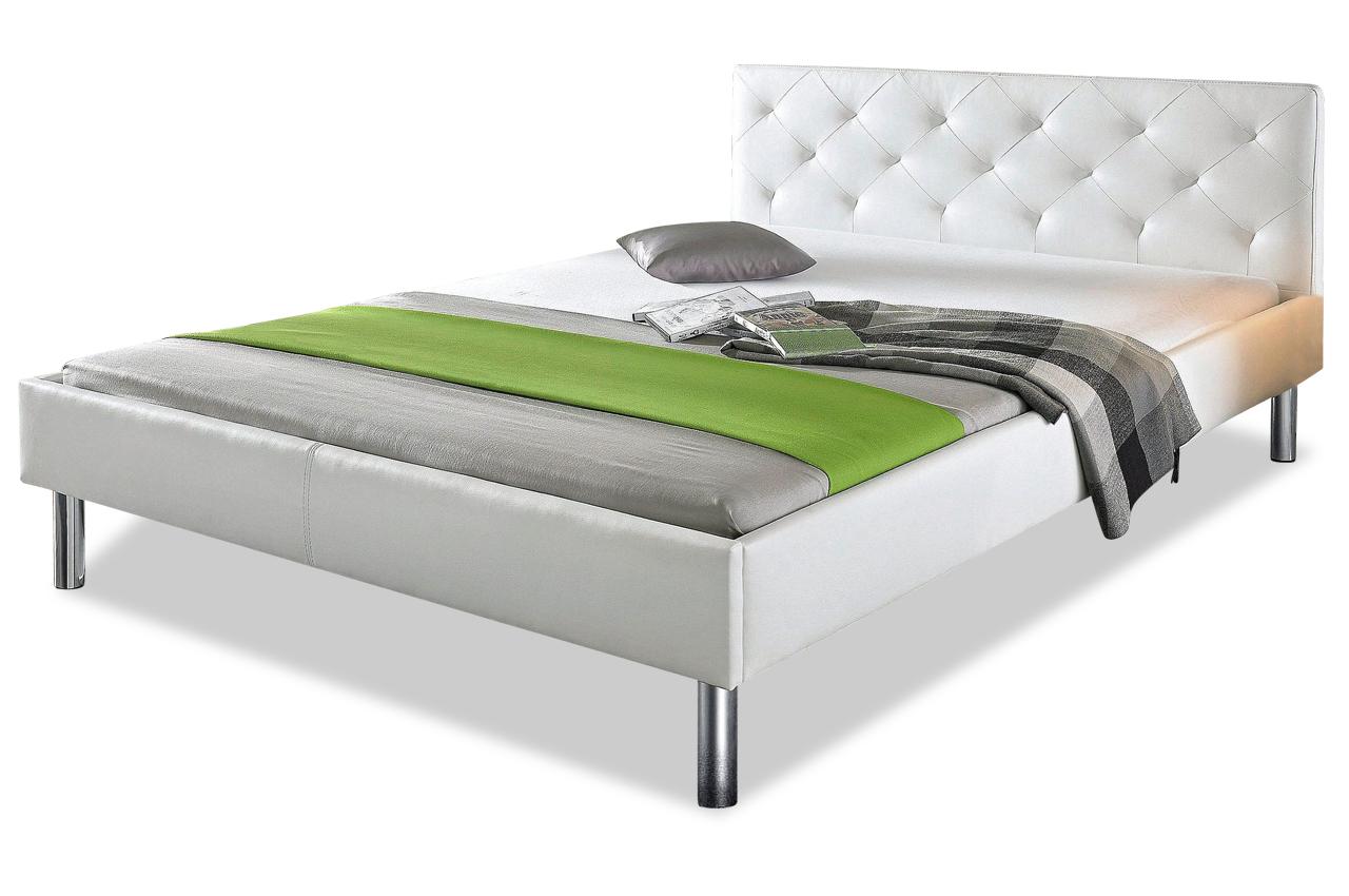 furntrade bettgestell 120x200 vicky weiss betten. Black Bedroom Furniture Sets. Home Design Ideas