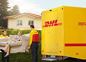 DHL Anlieferung